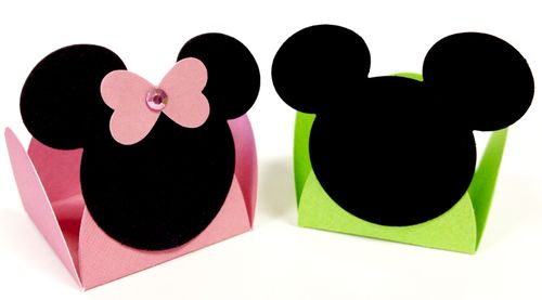 Mickey Minnie candy cups